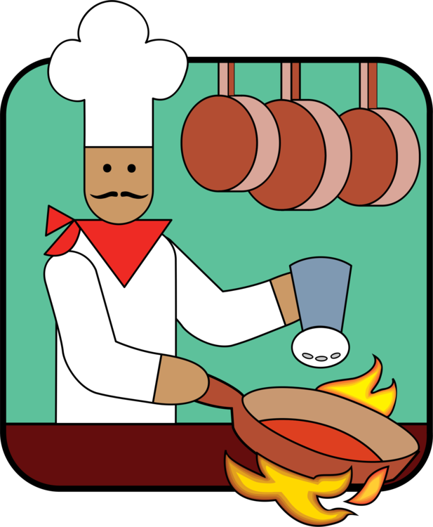 Cartoon clipart kitchen. Utensil chef cooking svg