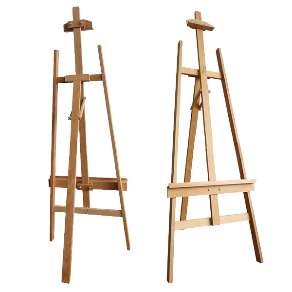 Art easel png. Hire exhibition chl artists