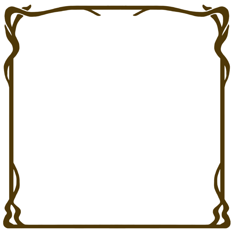 Art frame png. Nouveau stock by mezzochan