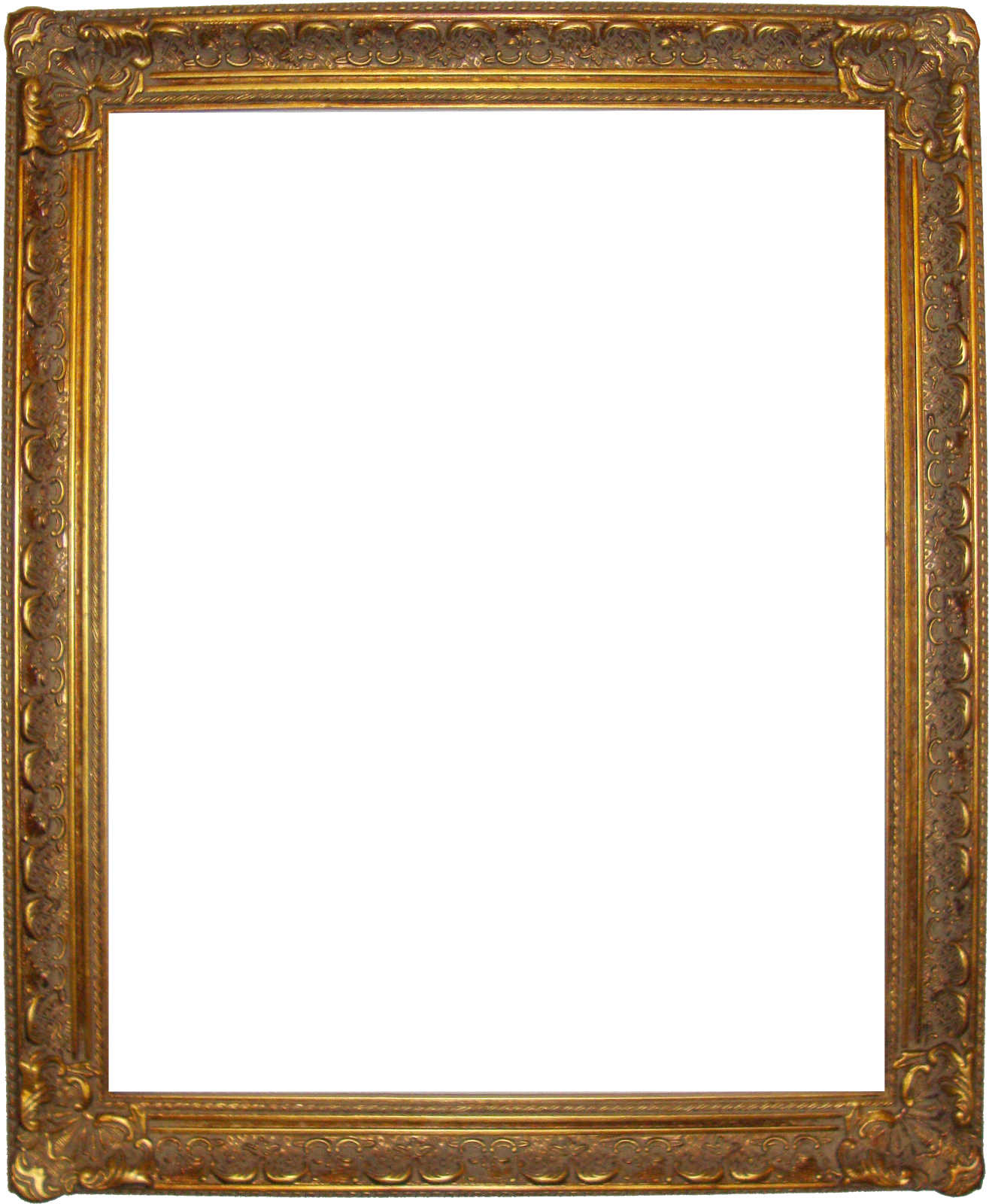 Art frame png. Gold transparent pictures free
