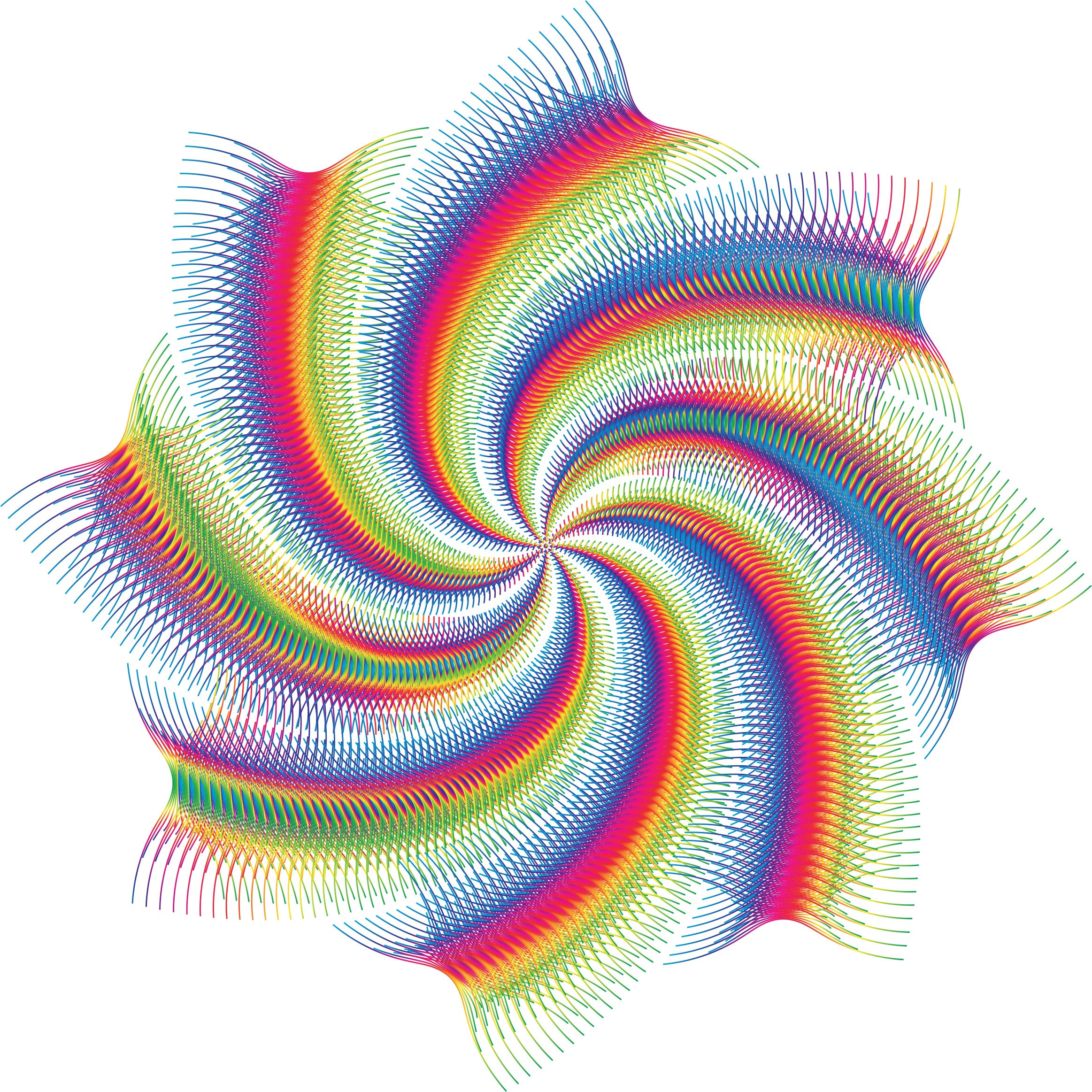 Art svg abstract. Prismatic line cyclone no