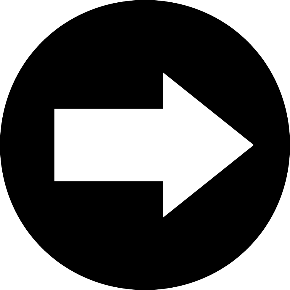 Art svg arrow circle. Right png icon free
