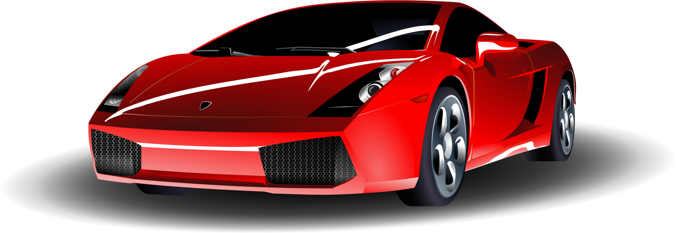 Art svg line lamborghini. Sports car ferrari s