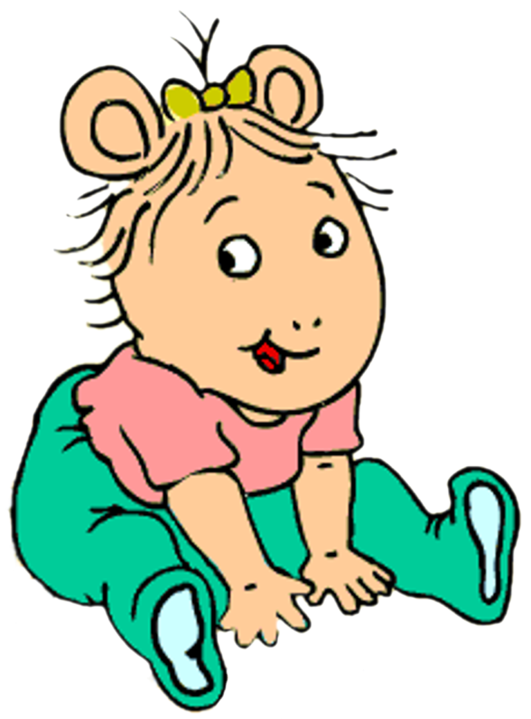 Arthur transparent baby kate. Poses by kaylor on