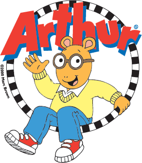 Arthur transparent version. Weiu educational programming family