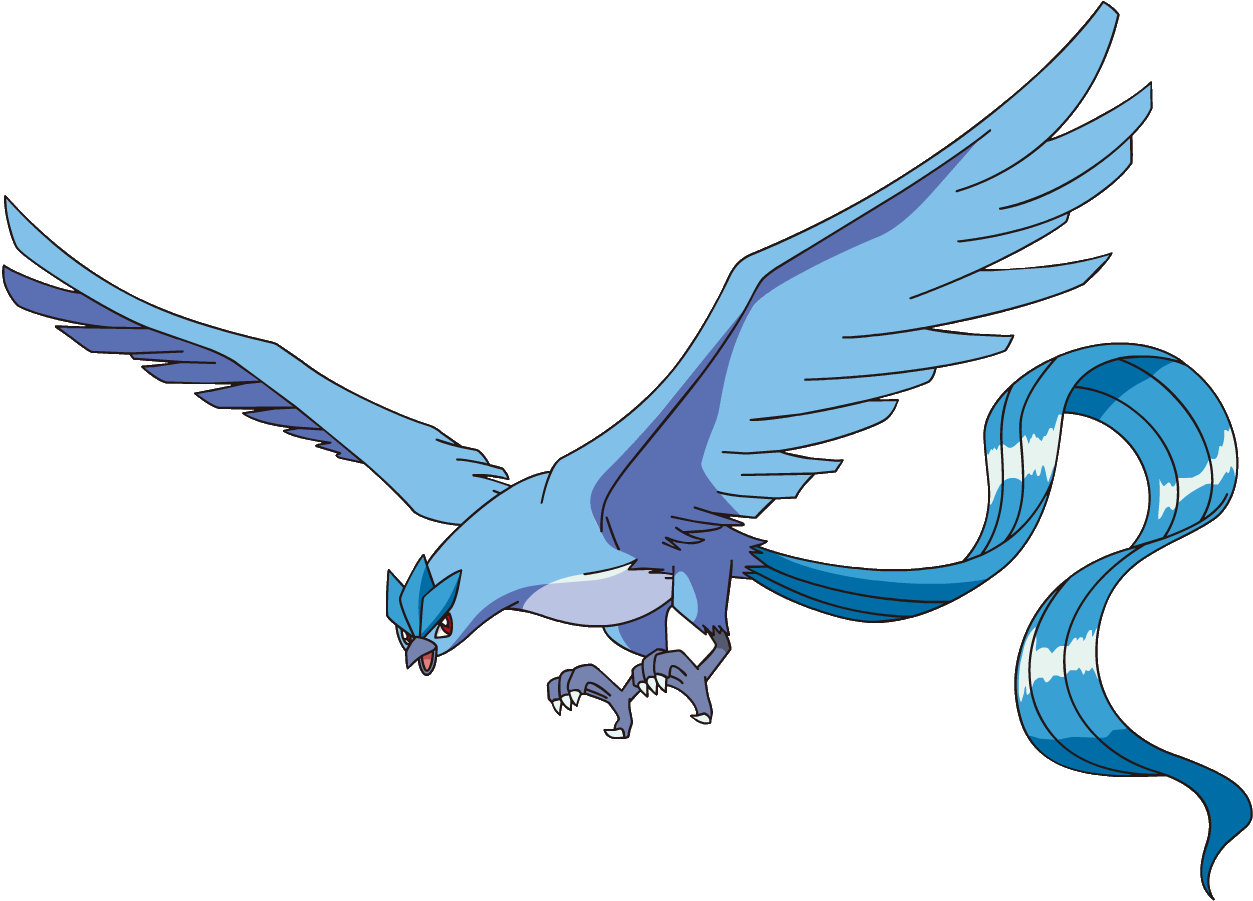 Articuno transparent. Niantic says it didn