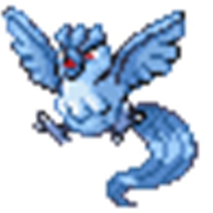 Roblox. Articuno transparent baby banner transparent library
