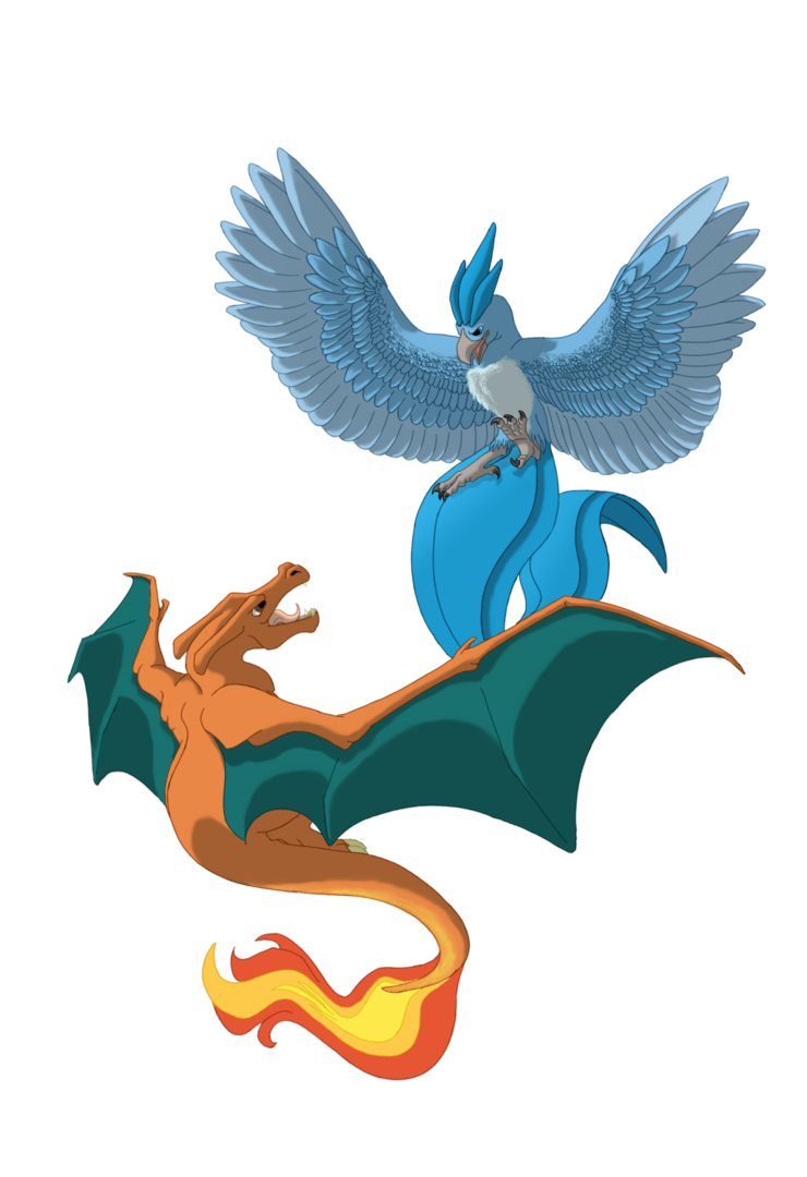 Articuno transparent baby. Charizard v by shadow