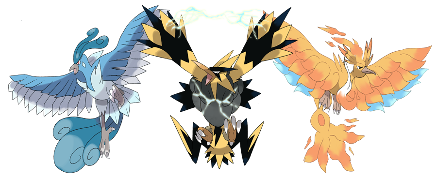 Mega zapdos and moltres. Articuno transparent baby graphic free stock