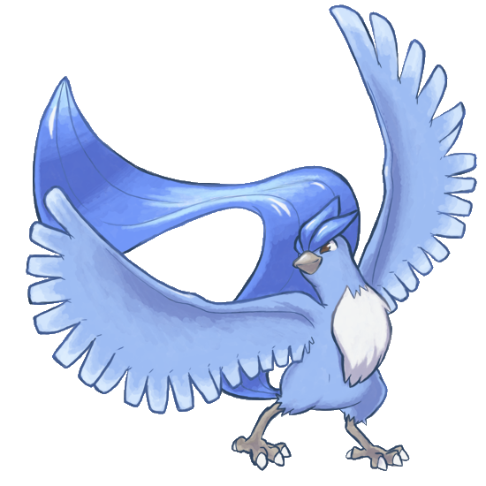 Articuno transparent baby. Image png pokemon tower