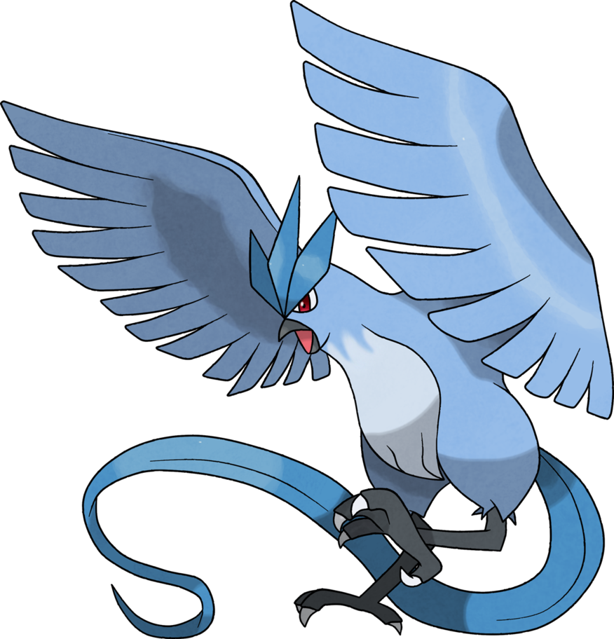 Articuno transparent character pokemon. Fanart by gyarados pinterest