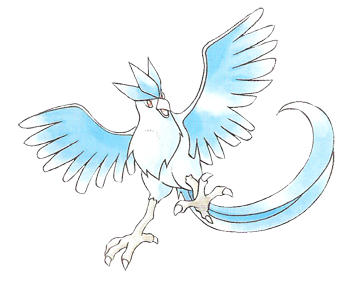 Articuno transparent gen. Now complete knost s