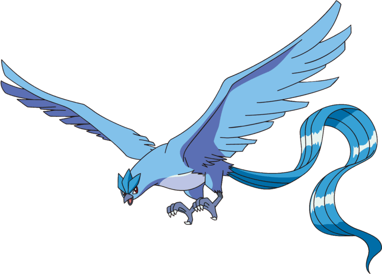 articuno transparent fire red