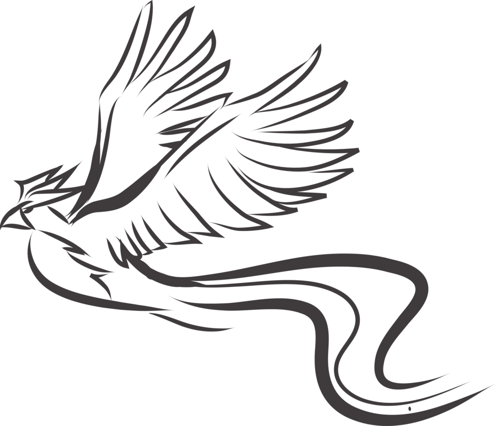 Articuno transparent tribal. Tattoo design st by