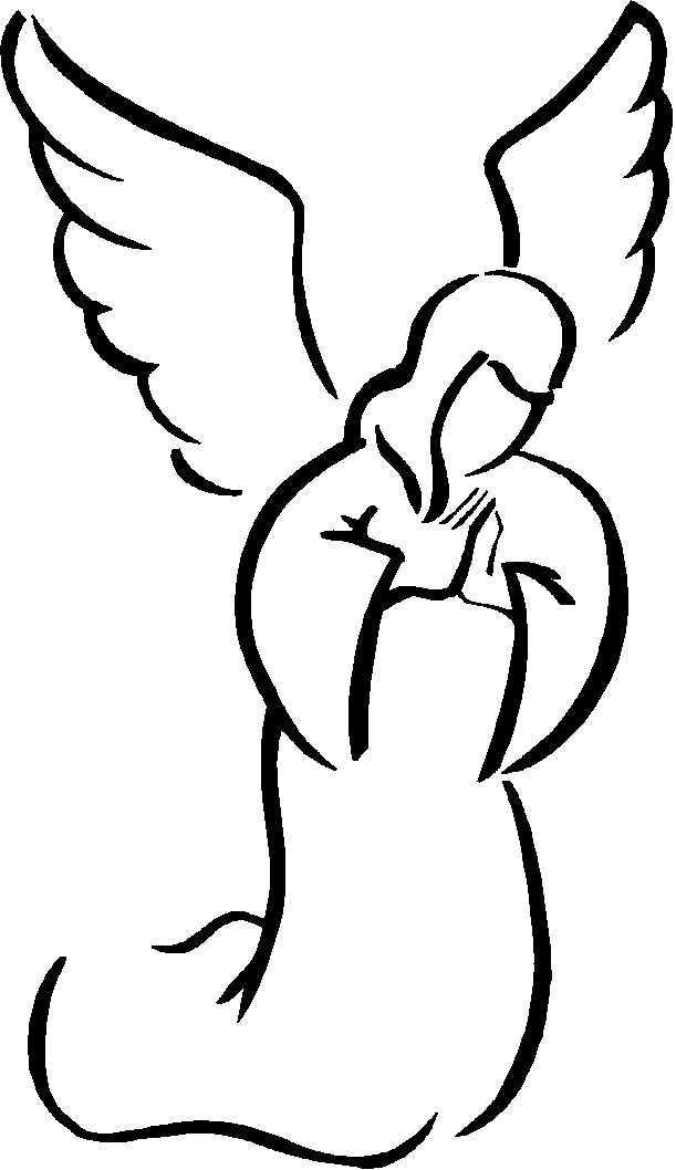 Angels clipart. Angel clip art simple