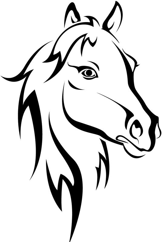 Artist clipart easy. Horse drawing at getdrawings