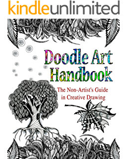Artists drawing creative. And sketching doodling shapes
