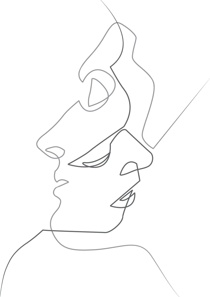 Artists drawing face. Quibe s site