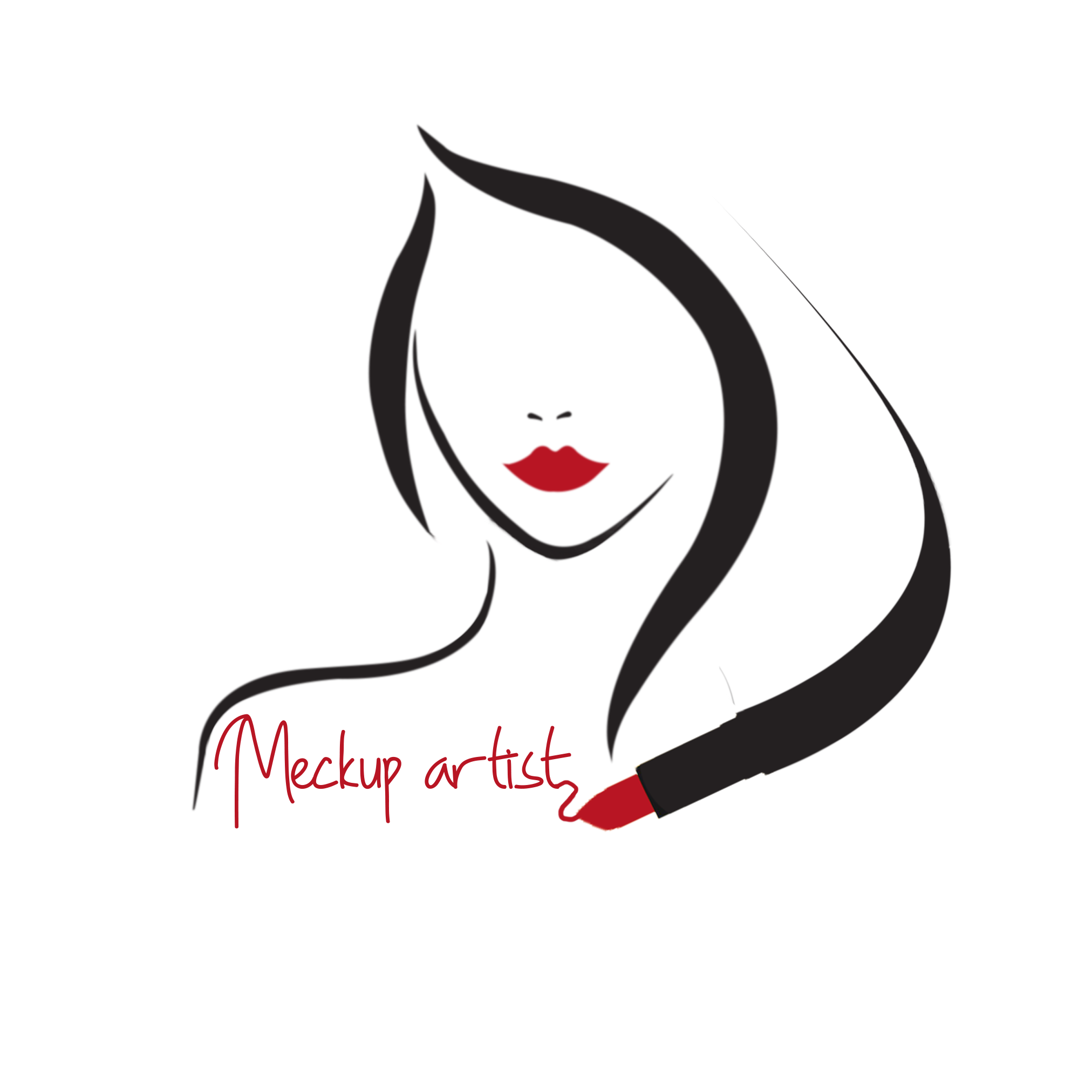 Artists drawing makeup. Artist logo clipart images