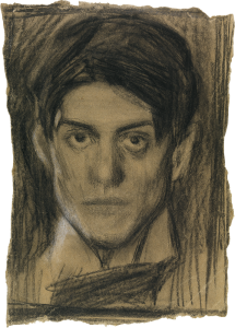 Self drawing famous. Autorretrato in picasso pablo