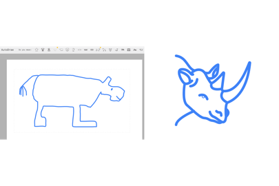 Artists drawing professional. Google autodraw ai will