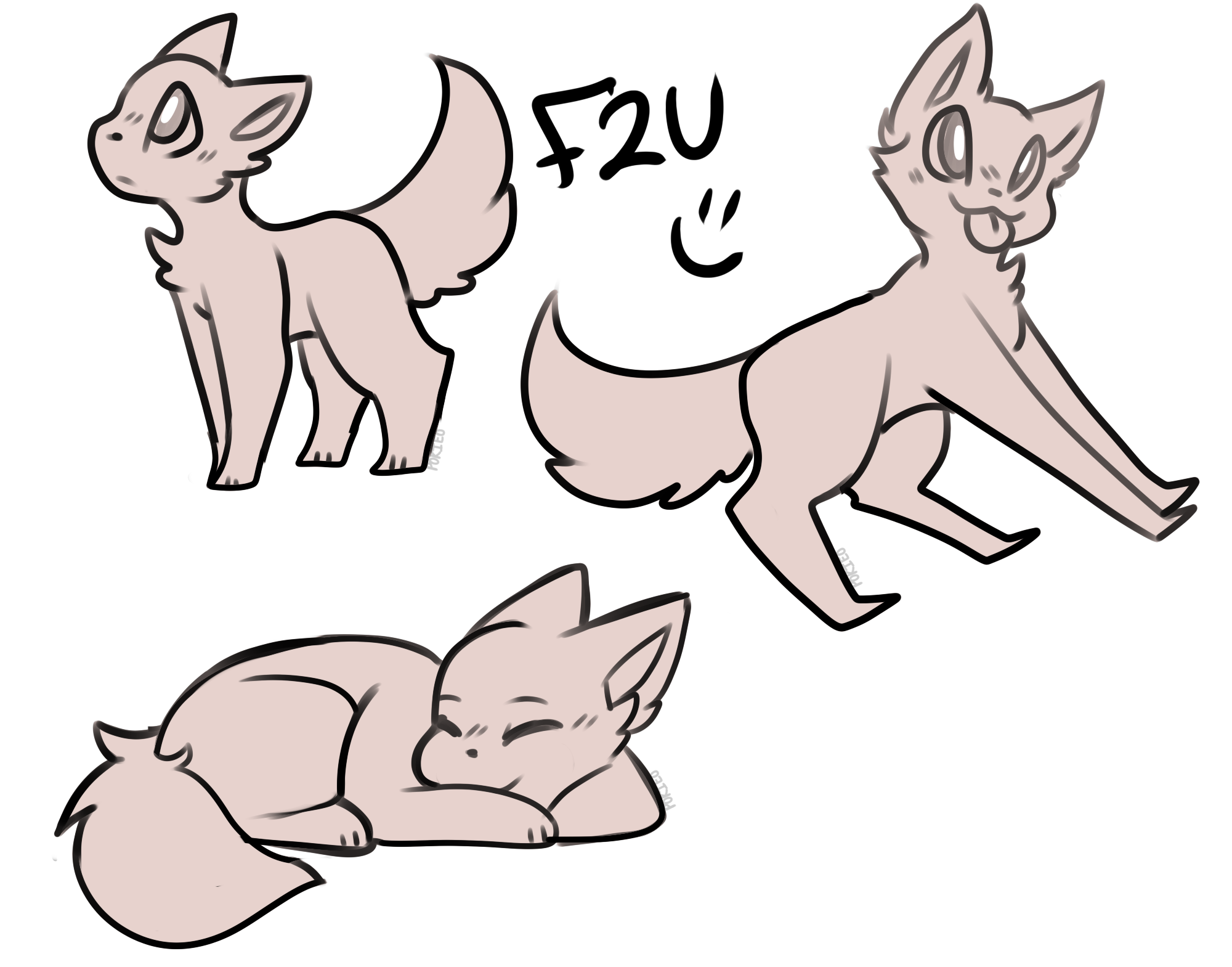 Floating drawing poses. Image result for cat