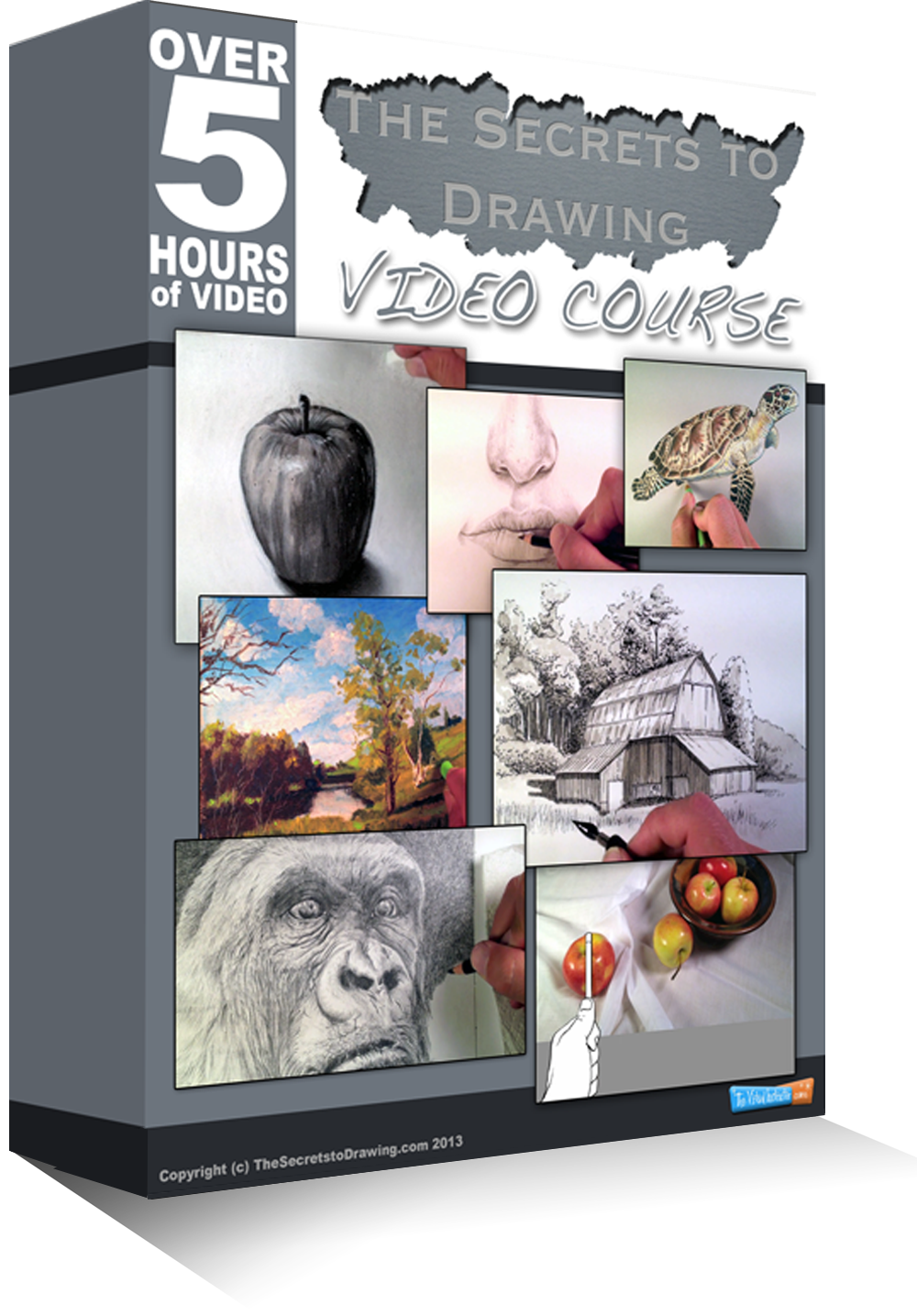Drawing textbooks course. The secrets to thevirtualinstructor