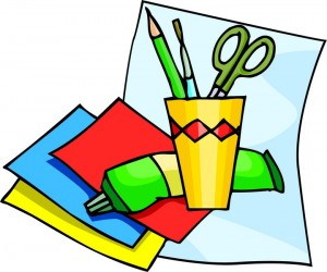 Craft clipart art design. Arts and crafts supplies