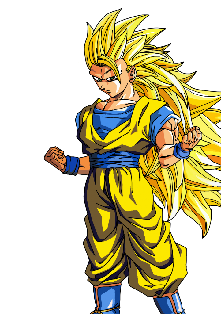 Visual art goku non. Arts drawing color picture free library