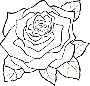 Arts drawing rose. Clip art at getdrawings