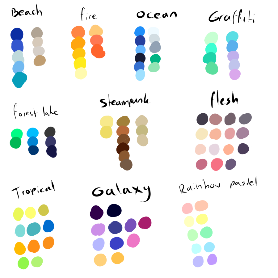 Artsy drawing colorful. Free to use color