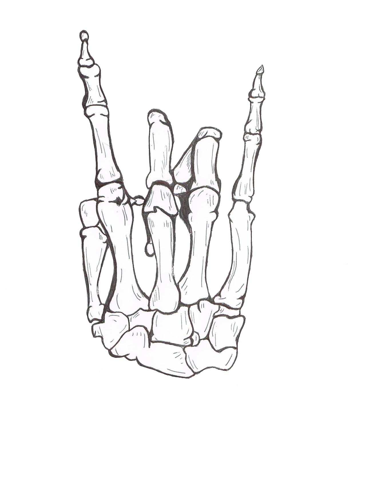 Artsy drawing hand. Rock on pinterest drawings
