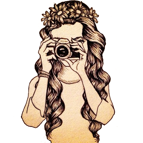 Artsy drawing hipster. In dissol vel via