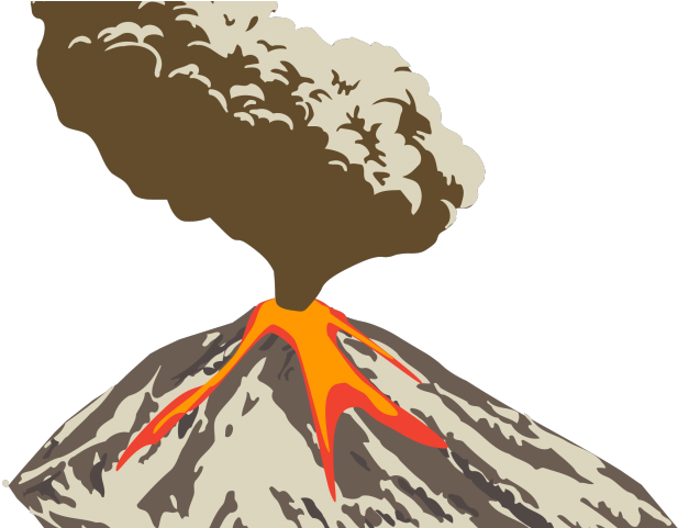 Download eruption cloud volcano. Ash clipart jpg black and white stock