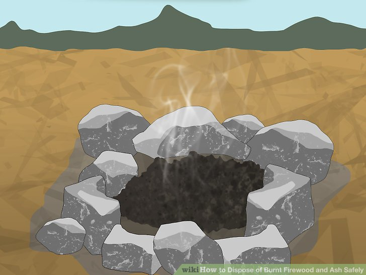 Ash clipart burnt. How to dispose of