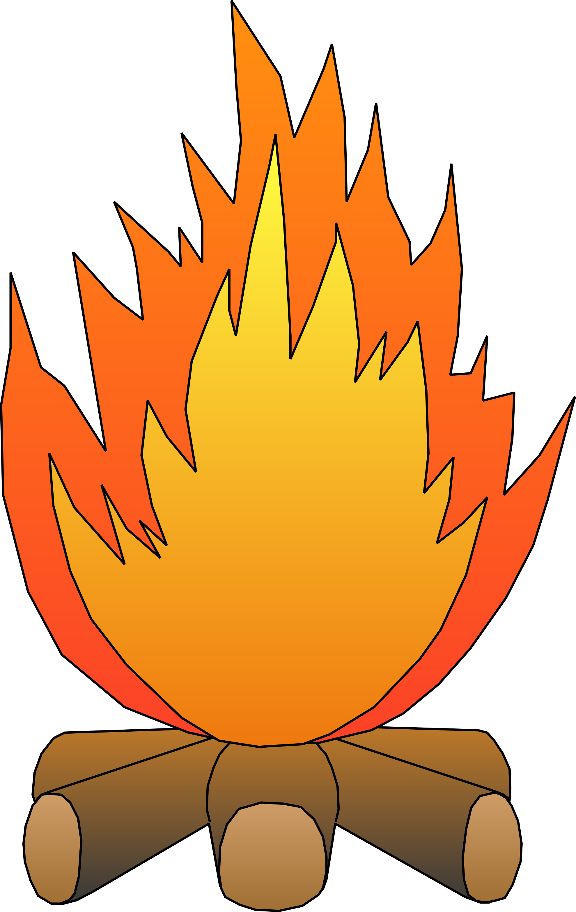 Firewood clipart bon fire. Free picture of a