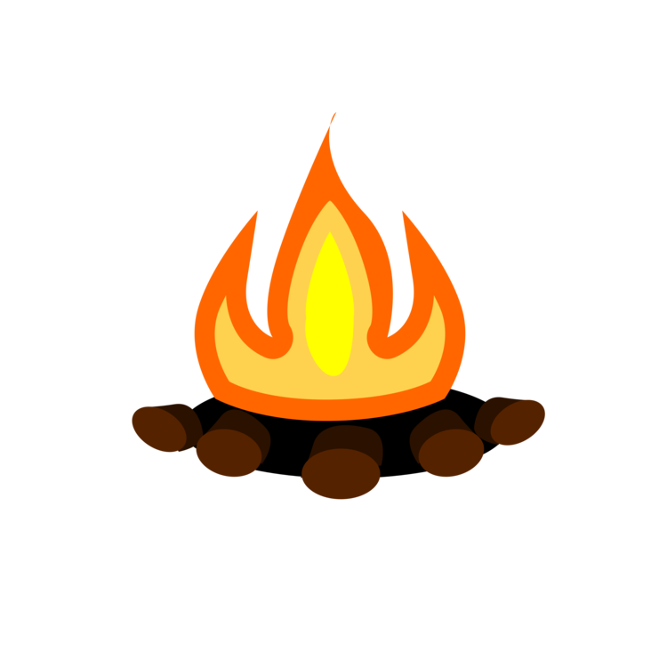 S more campfire bonfire. Outdoors clipart camp fire flame vector black and white library