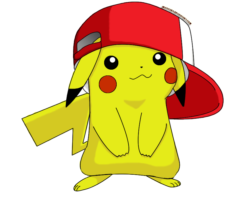 Ash hat png. Image cute pikachu with