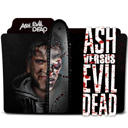 Ash vs evil dead logo png. Folder icon by andreas