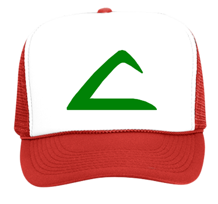 Ash hat png. Ketchum trucker custom embroidered