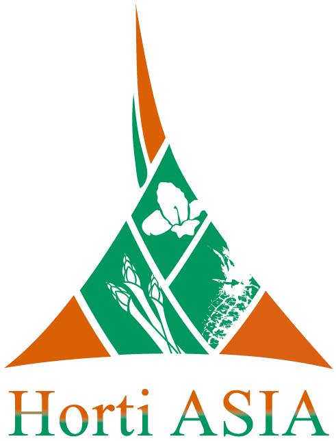 Asia band logo png. Horti s horticultural trade