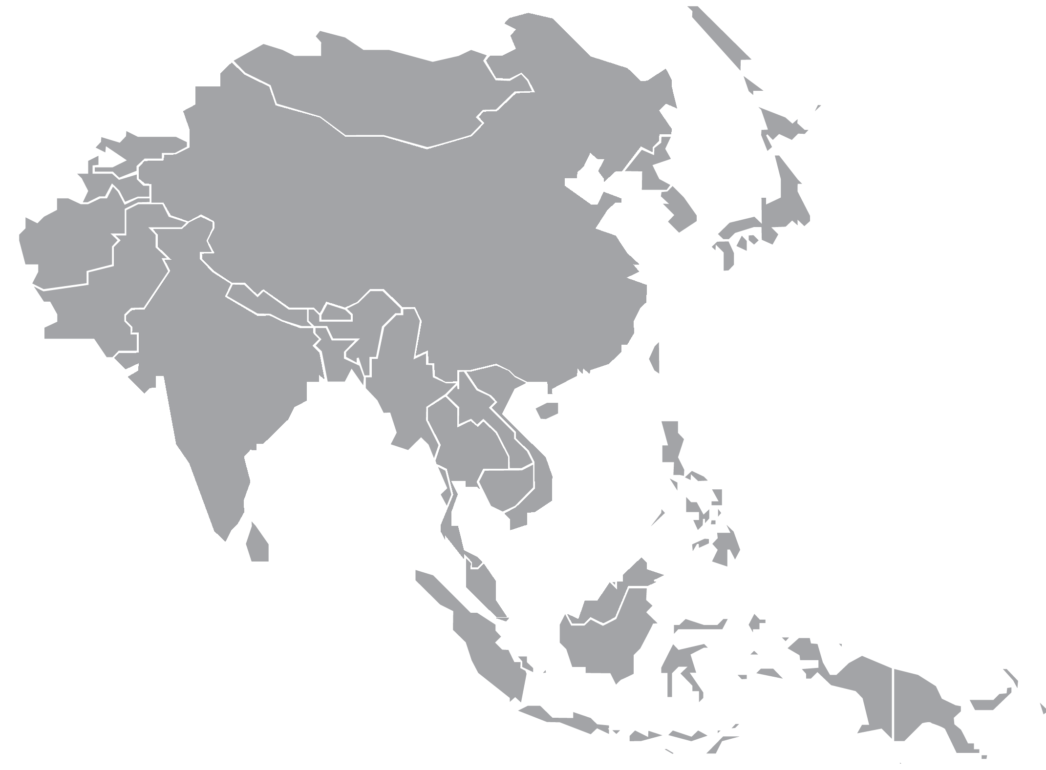 Asia map png. Market review click on