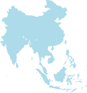 Asia vector. Southeast clip art at