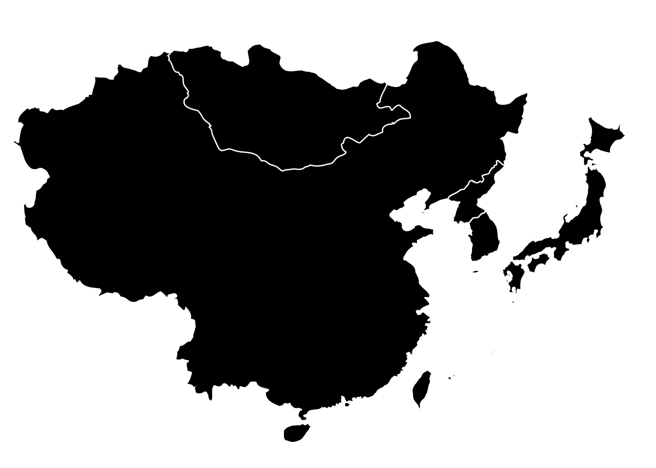 Asia vector country. File h n east