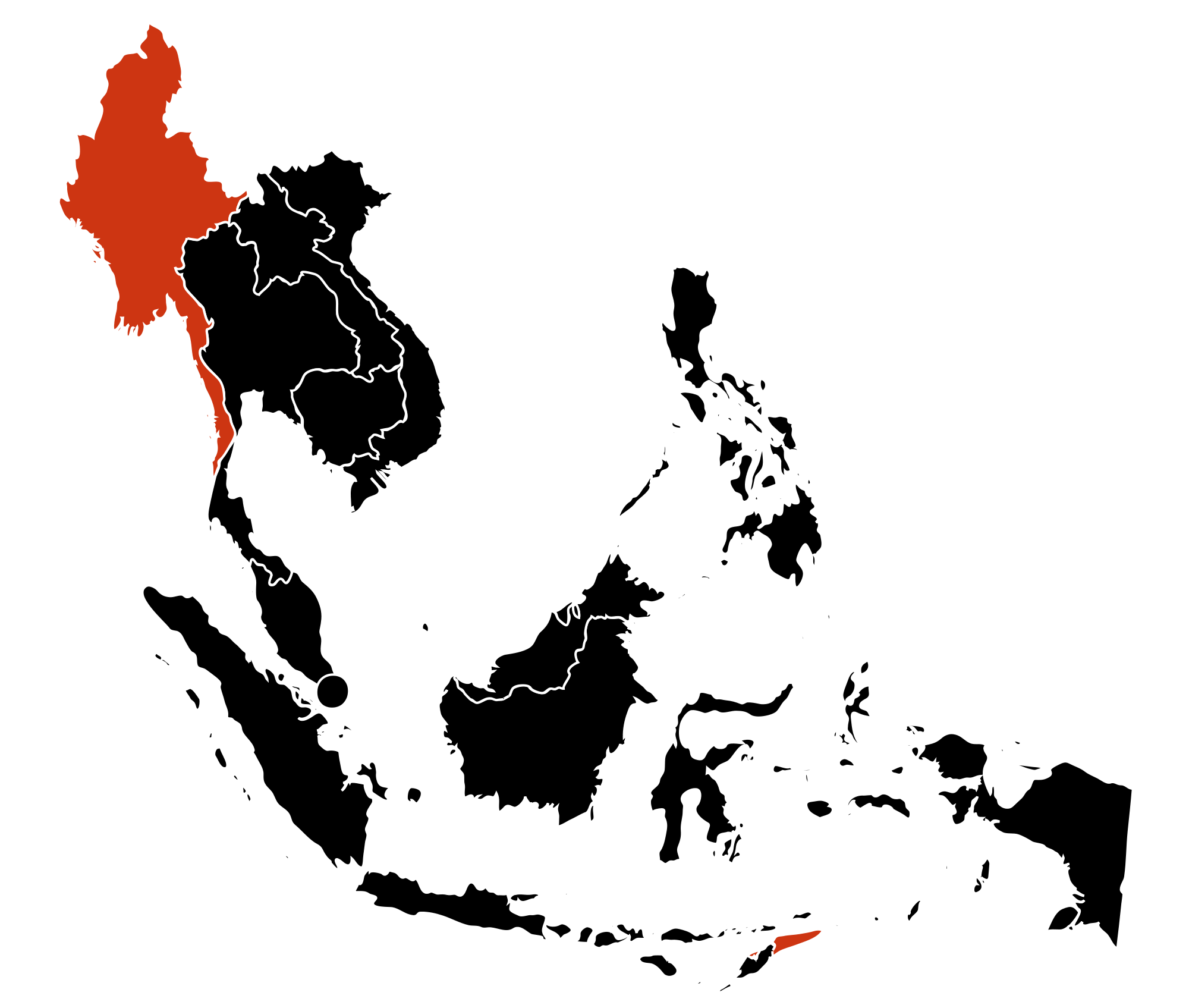 Asia vector south map. File h n southeast