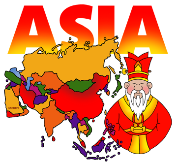 Asian clipart. Free clip art library