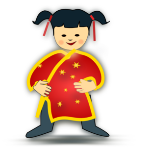 Asian clipart. People