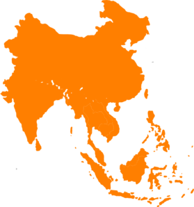 Asian clipart continent asia. Southeast clip art at