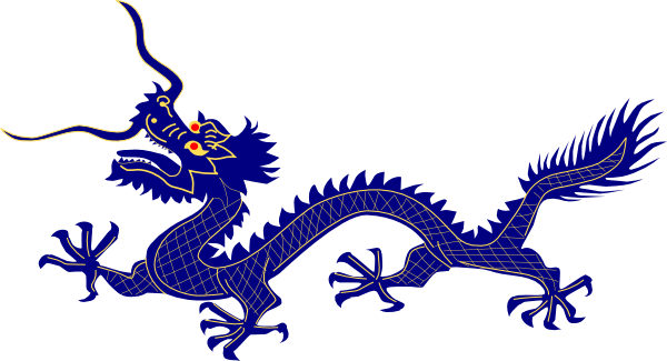 Asian clipart dragon chinese.