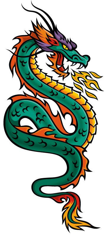 Chinese clipart dragon. Free download clip art